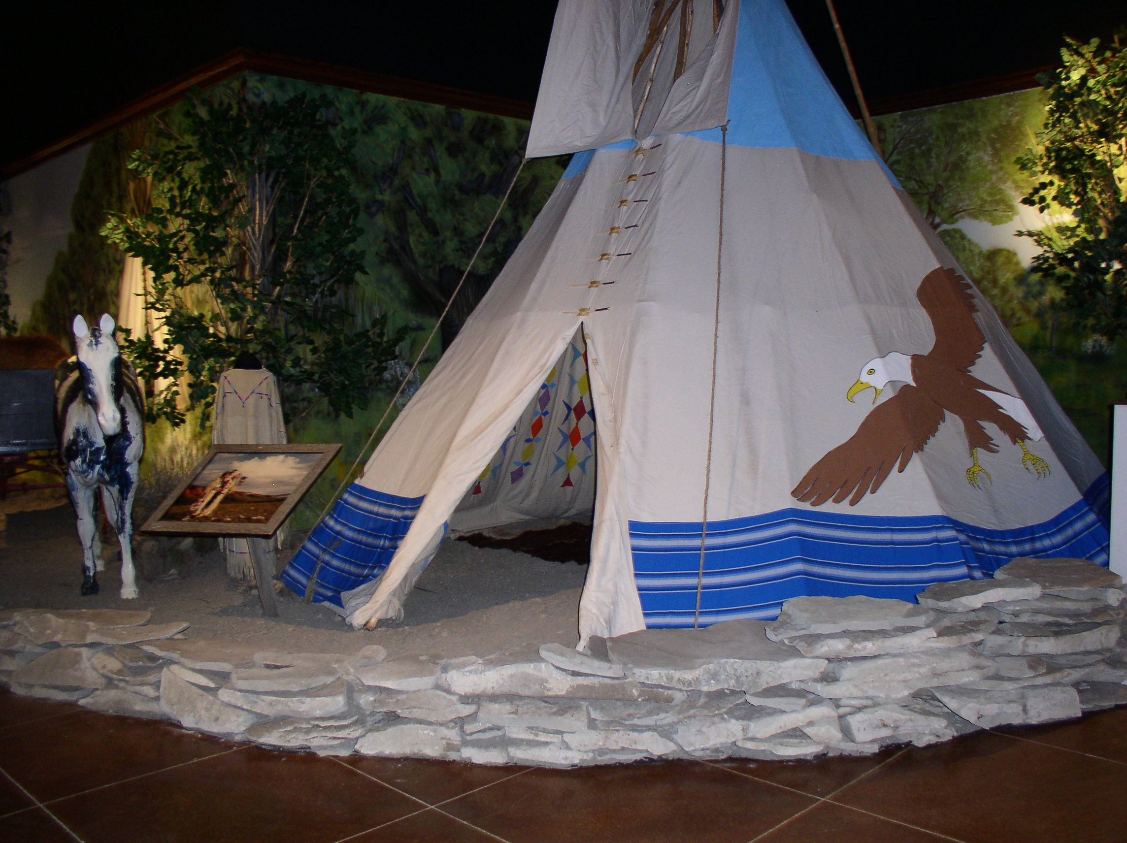 Plains Indian Exhibit