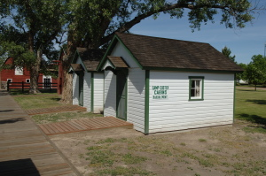 Camp Custer Cabins - buildings